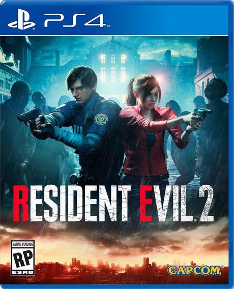 Resident Evil 2 Ps4 Original O Jogo É Primário E Vitalicio Envio Imediato Promoção