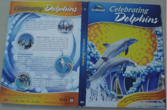 Dvd Golfinhos Importado - Celebrating Dolphins - Seaworld