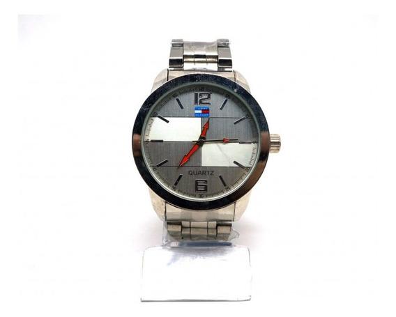 Relógio Tommy Hilfiger Prata + Corrente De Aço Inox Dourada