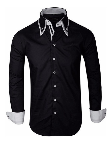 Camisas Entalladas Hombre Slim Fit Casuales - Quality Import