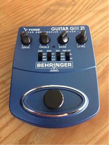 Pedal V Tone Behringer Guitar Gdi 21 Semi Novo