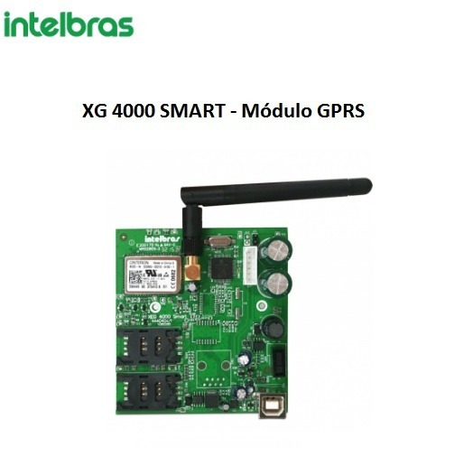 Modulo Gprs Xg 4000 Smart - Intelbras