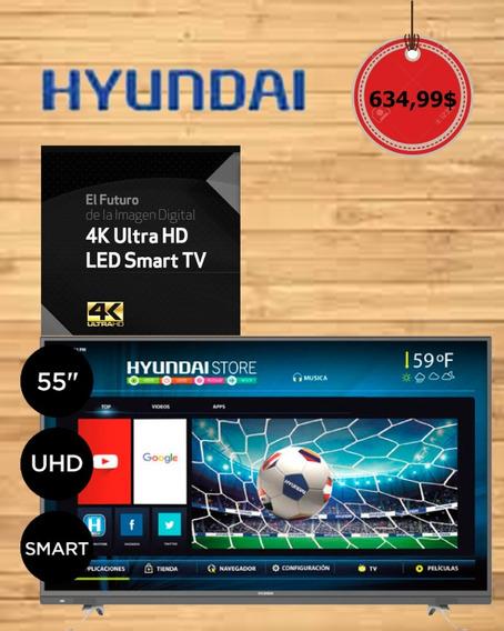 Smart Tv 4k Hiunday 55