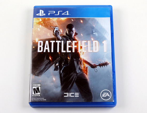 Battlefield 1 Original Playstation 4 Ps4 - Mídia Física