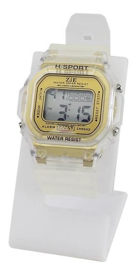 Relógio Infantil Digital Kids Ajustável Ross98 + Caixa