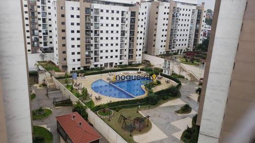 Apartamento Com 3 Dormitórios Para Alugar, 75 M² Por R$ 2.300,00/mês - Interlagos - São Paulo/sp - Ap15493