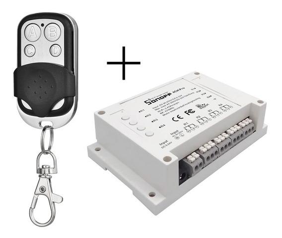 Sonoff 4ch Pro Switch Com Controlador Remoto