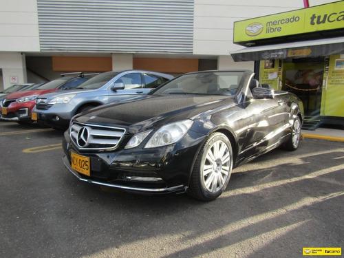 Mercedes-benz Clase E 1.8 Cgi Cabriolet