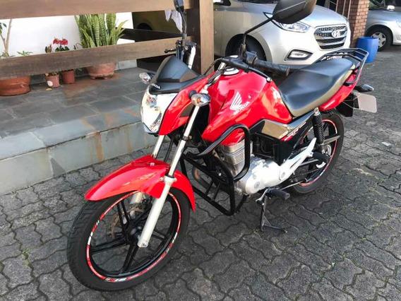 Moto Honda Cg 150 Fan Esdi 2014 Raridade