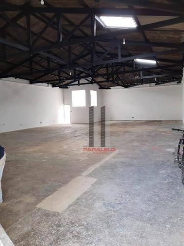 Galpão Para Alugar Por R$ 6.000/mês - Mooca - São Paulo/sp - Ga0418