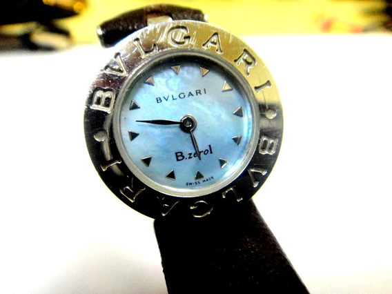 Relógio Bvlgari B.zero 1 Ladies Watch Dial Azul Ref ;bz 22 S