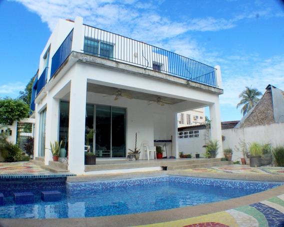 Casa Minimalista Y Moderna Para Alquiler En Playa El Palmar