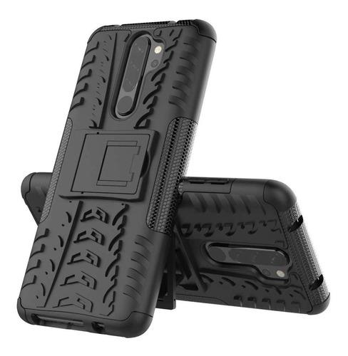 Estuche Protector Jkase Xiaomi Redmi Note 8 Pro - Negro