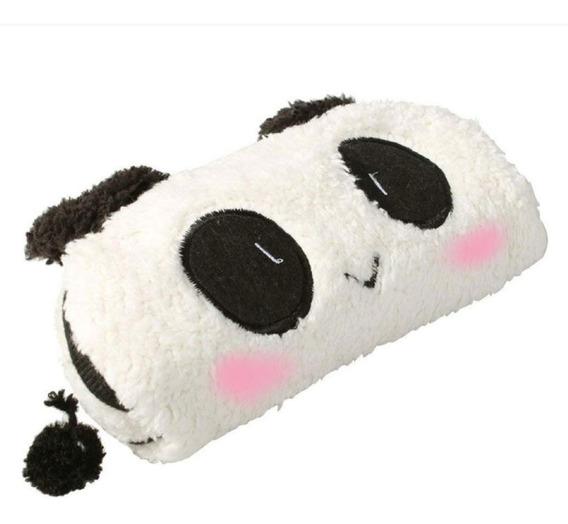 Bolsa Panda Cute Kawaii Mujeres Niños Lapicera Cosmetiquera