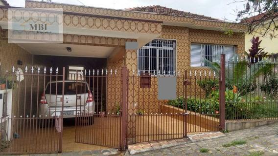 Terreno Com Casa Térre Na Frente E Sobrado No Fundo 10 X 30 Bom Para Construir Apartamentos Ou Sobradinhos - Te0041