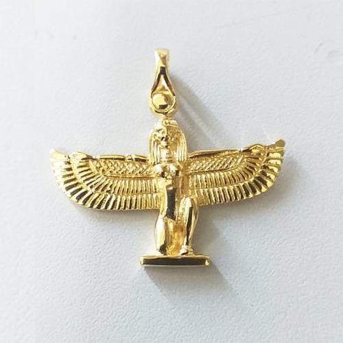 Pingente Deusa Isis, Prata 925 Banho Ouro 18 K - 32903923