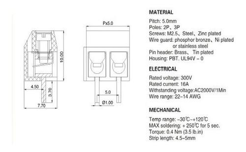 Inntek 1 Par Bornes Bater/ía Conjunto Auto Conectores Bater/ía Terminales Positivo y Negativo Universal Conector para Bater/ía Coche Auto Motocicleta