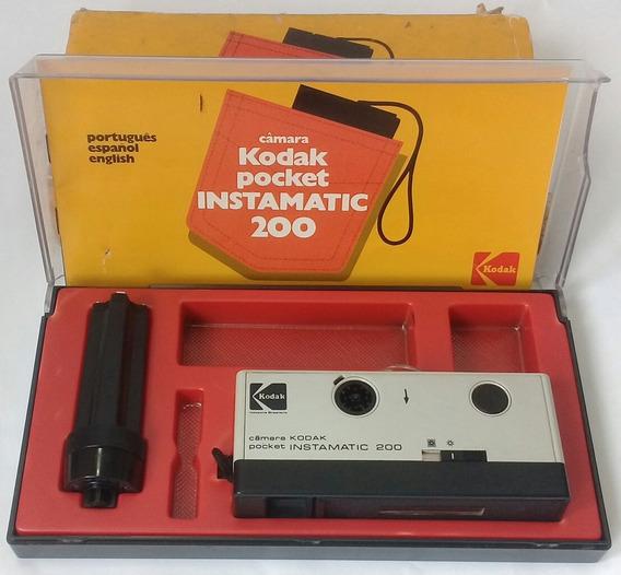 Câmera Fotográfica Kodak - Pocket - Instamatic 200