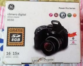 Câmera Digital Ge X550 - Com Desconto À Vista