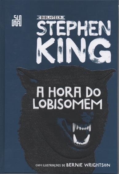 Livro - A Hora Do Lobisomem - Stephen King - Capa Dura
