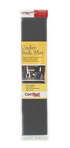 Marca Con-tact No Adhesiva Bajo Fregadero Mat, 24 Pulgadas
