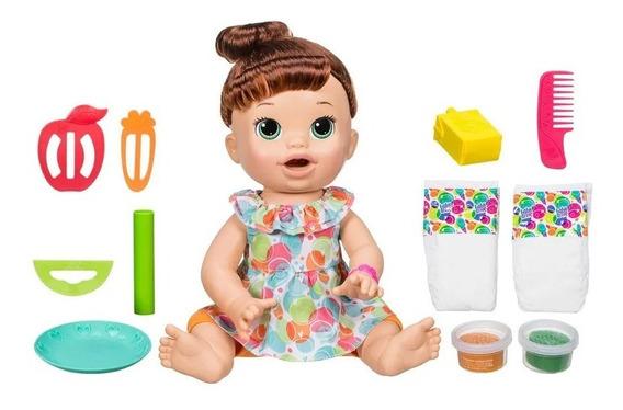 Baby Alive Comilona Morena Hasbro