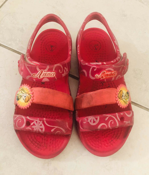 Crocs Sandals Niña Frozen Talle C10 27