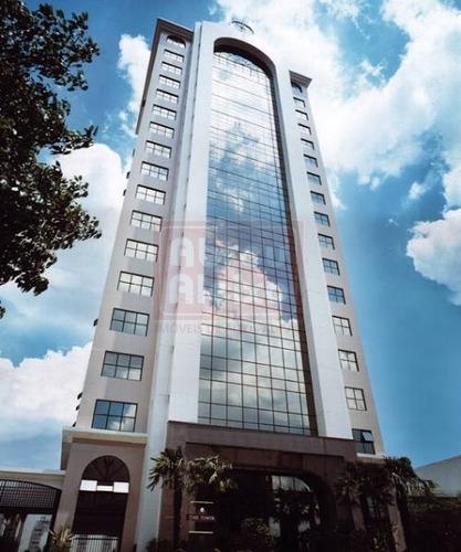 Tatuapé - Edificio Time Tower - Sala Comercial Com 30 M² Úteis + 1 Vaga De Garagem - 1080