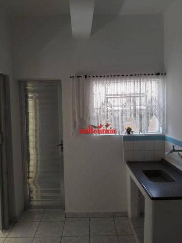 Casa Com 1 Dormitório Para Alugar Por R$ 900/mês - Vila Laís - São Paulo/sp - Ca0100