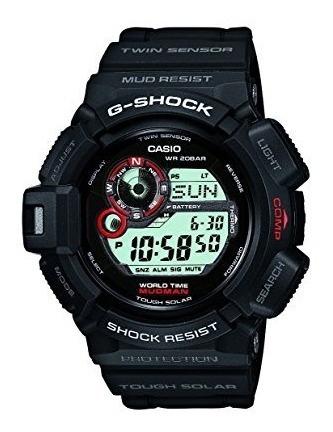 Casio G Shock Mudman Digitales Hombres Dial Reloj - G9300-1