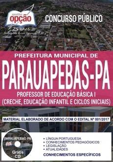 Apostila Prefeitura De Parauapebas Prof De Educação Básica 1