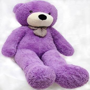 Urso Gigante De Pelúcia Teddy Bear 1 Metro - Cheio