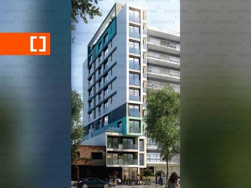Venta De Apartamento Obra Construcción Monoambiente En Punta Carretas, Solano Antuña Suites Unidad 204