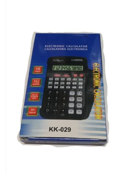 Promoção! Calculadora Científica Kk 029. 56 Funções.