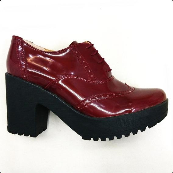 Zapato Bostoniano, Oxord , Tacon