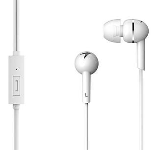 Auricular In Ear Hs M300 Blanco C/microfono Genius Clear