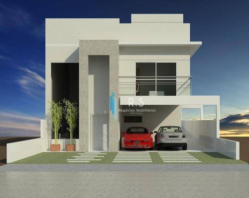 Imagem 1 de 3 de Casa Com 3 Dormitórios À Venda, 149 M² Por R$ 850.000,00 - Condomínio Phytus - Itupeva/sp - Ca0461