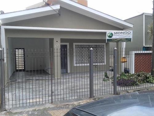Casa Com 3 Dormitórios À Venda, 177 M² - Jardim Brasil - Campinas/sp - Ca1196
