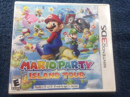 Mario Party Island Tour Nintendo 3ds Sellado