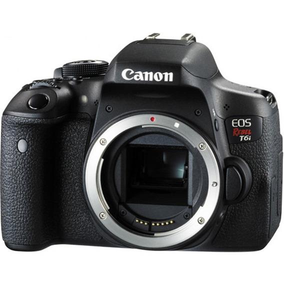 Canon Eos T6i Com Wifi - Corpo