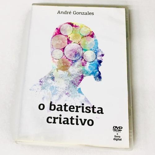 Imagem 1 de 5 de Kit André Gonzales - O Baterista Criativo