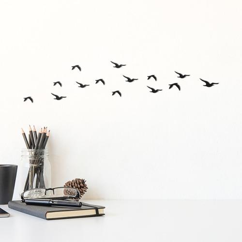 Imagem 1 de 2 de Quadro Decorativo Parede Animal Pássaros 03 30cm