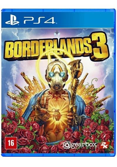 Borderlands 3 + Dlc - Ps4 - Midia Fisica