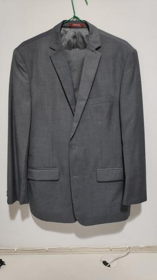 Terno Masculino Cinza Paleto/blazer E Calça Social