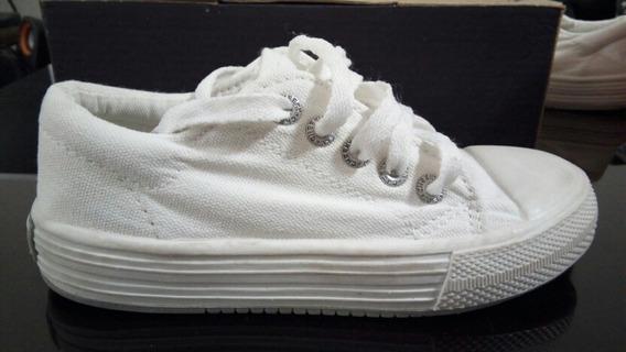 Zapatillas Cheeky N°30 Blancas