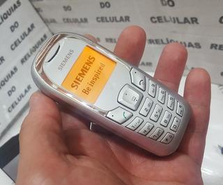 Celular Siemens A70 De Chip Linha A52 ( 2003 ) Lindo 100%