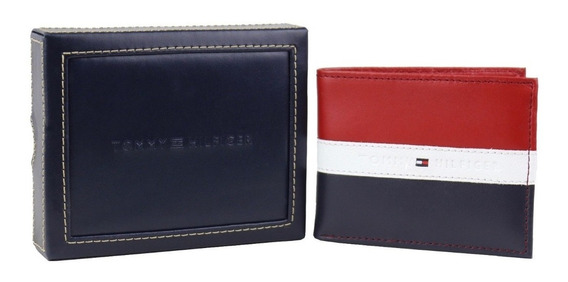 Billetera Tommy Hilfiger Para Caballero Rfid Protection!!!