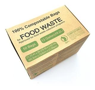 Bolsas De Basura, Compost Y Césped,unni Astm6400 Certifi..