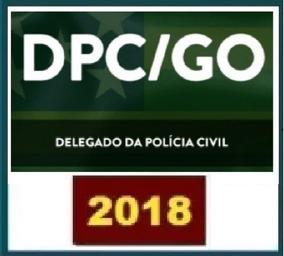 Delegado Da Policia Civil Go - 2018