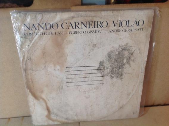 Nando Carneiro Lp Violão Vinil Egberto Gismonti